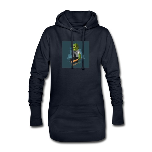 shirt-1463945236-5daf81e62c0d1d7638f8dc3cd92c79b7 - Sudadera vestido con capucha
