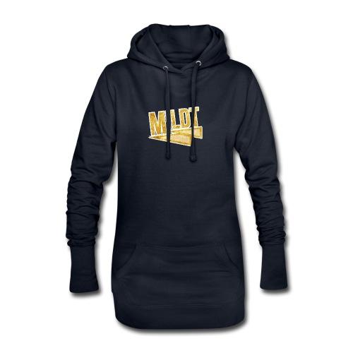 MILDT Gouden Kids Shirt - Hoodiejurk