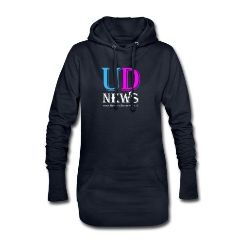 La maglietta di Uomini e Donne News scura - Vestitino con cappuccio