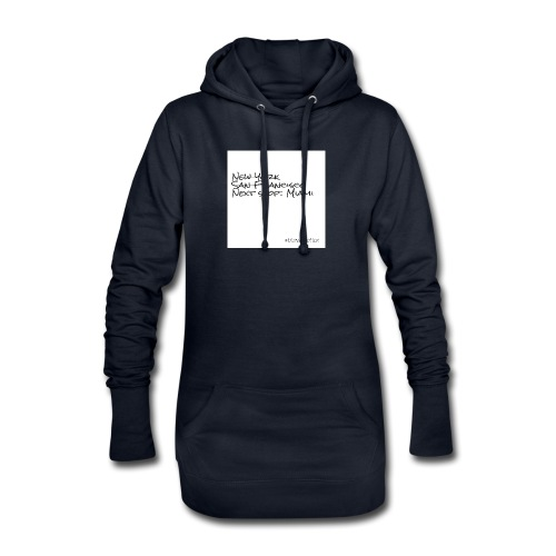 City Collection USA - Hoodie-Kleid