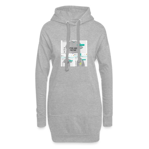 Pyro_King T-shirt - Hoodie-Kleid