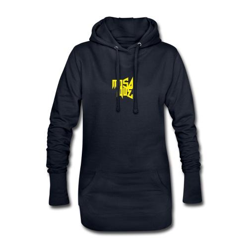 MosaiqueRecords BYellow - Sweat-shirt à capuche long Femme