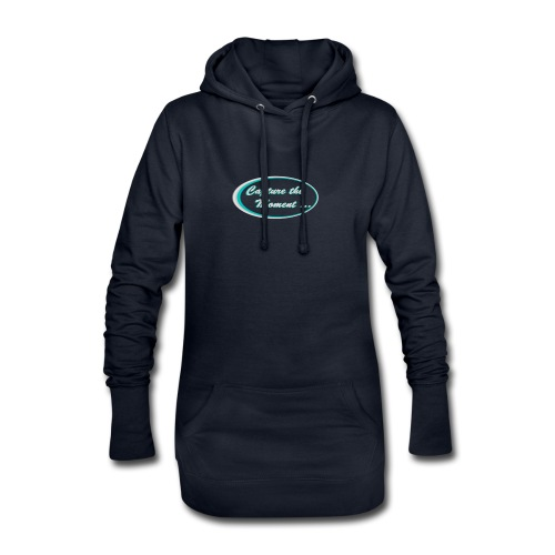 Logo capture the moment photography slogan - Hoodie Dress