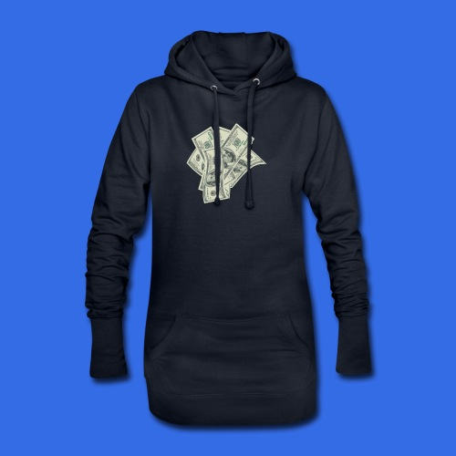 more money - Hoodie Dress