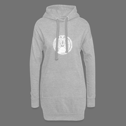 Maschinentelegraph (white oldstyle) - Hoodie Dress