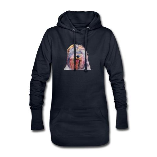 schapendoes - Hoodie-kjole