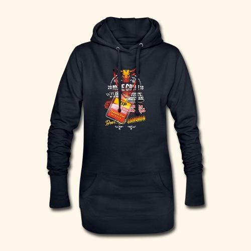lustiges Sauftour-Shirt Booze Cruize - Hoodie-Kleid