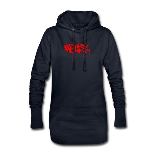 #EASY Graffiti Logo T-Shirt - Vestitino con cappuccio
