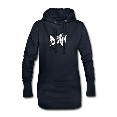 SHAM Official Graffiti Hoodie Black - Hoodie Dress