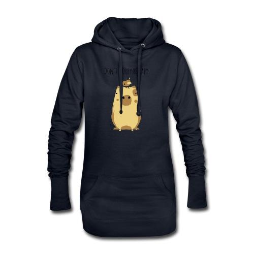 Wasserschwein Spruch - Hoodie-Kleid