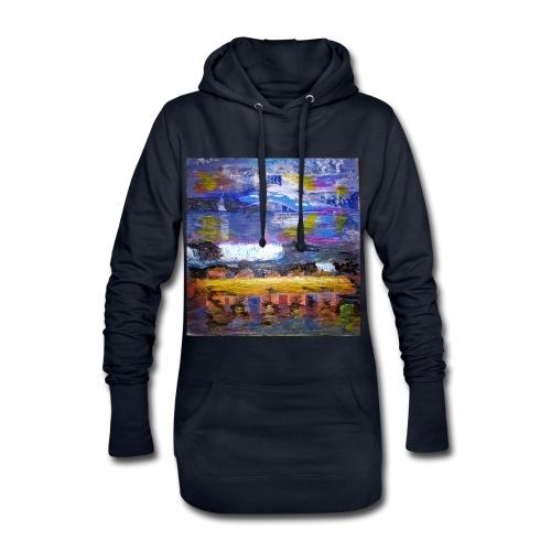 Im Rausch der Wasserwelten - Künstler Jan Korski - Hoodie-Kleid
