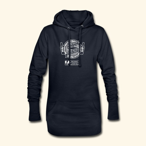 Never whisky without water - Hoodie-Kleid