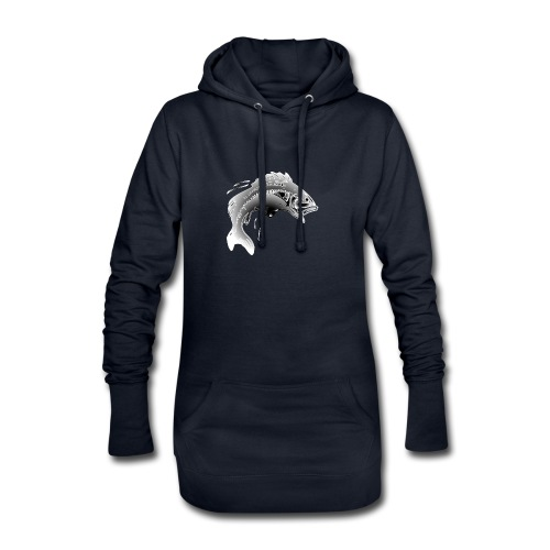 carpe - Sweat-shirt à capuche long Femme
