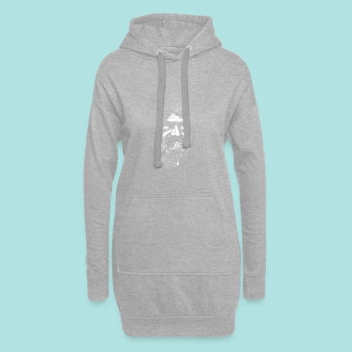 Old Guy, Eyes Open. - Hoodie Dress