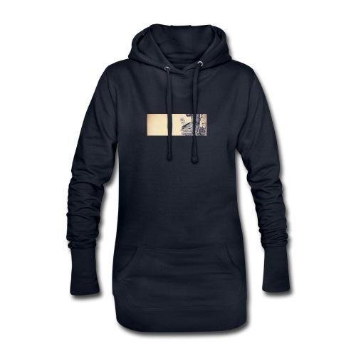 solo.pigion - Sweat-shirt à capuche long Femme