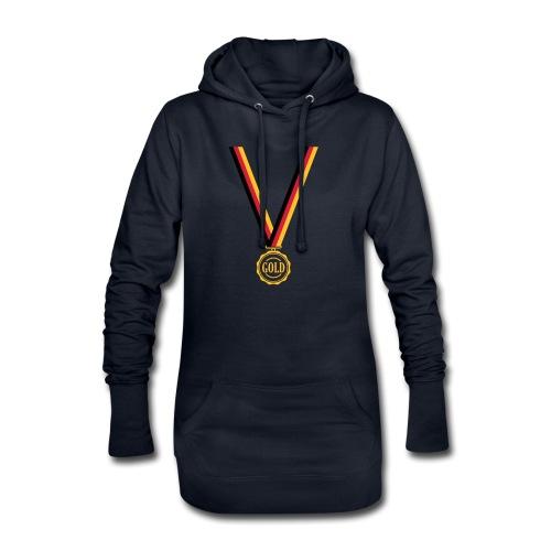 Goldmedaille Deutschland - Hoodie-Kleid