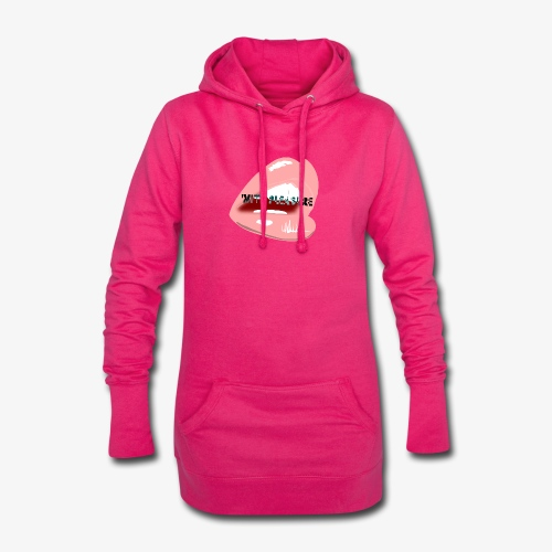 With Pleasure Mouth Logo - Hoodie Dress