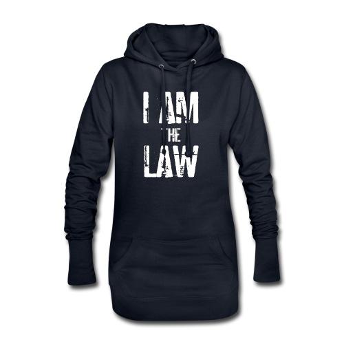 Tank top girl woman I AM THE LAW per avvocatessa - Hoodie Dress