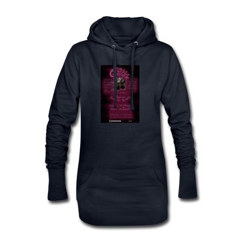 Design Das geilste Geschenk B Seite - Hoodie-Kleid