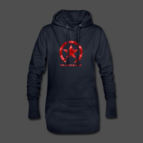 KILLSCHALTER Logo Roses - Długa bluza z kapturem