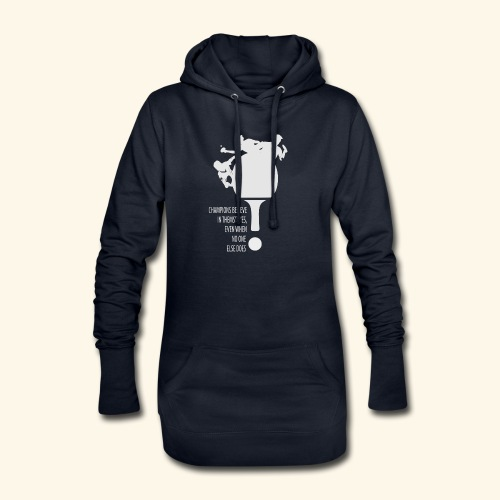 Believe in Yourself to be a Winner - Hoodie-Kleid