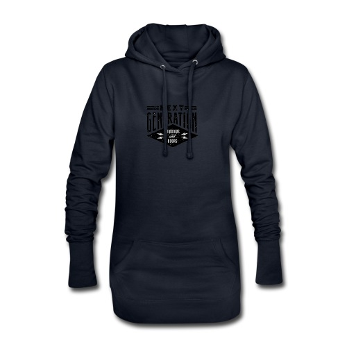 Diseño vintage Next Generation - Hoodie Dress
