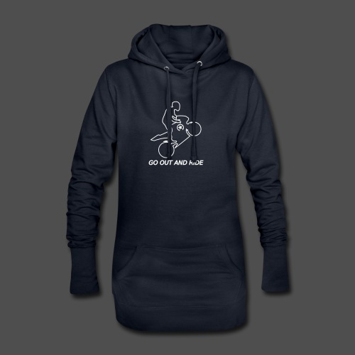 go out and ride superbike wheelie - Hoodie Dress