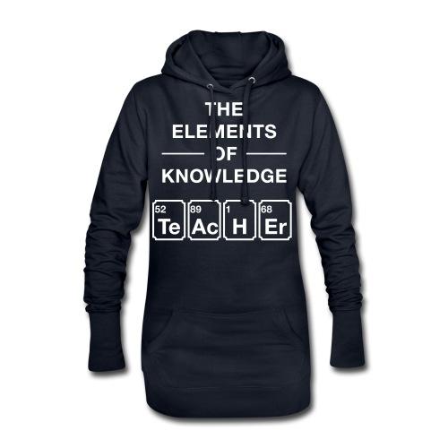 Lustig Periodensystem Lehrer Shirt Geschenk - Hoodie-Kleid