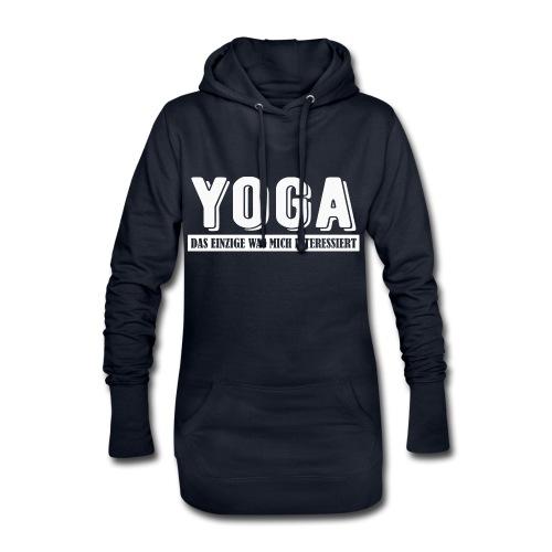 Yoga - das einzige was mich interessiert. - Hoodie-Kleid