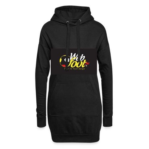 webfoot.be - Sweat-shirt à capuche long Femme