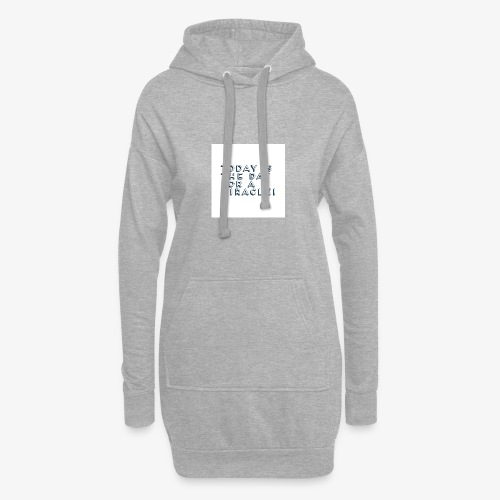 Miracle question - Hoodie Dress