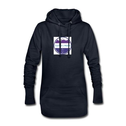 Women's Tee centre logo - Hoodie Dress