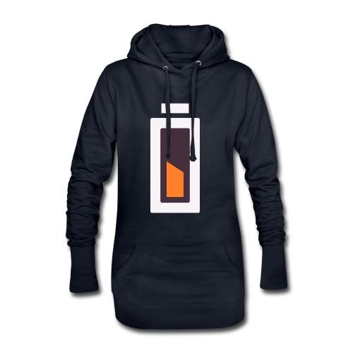 Batterie - En charge... - Sweat-shirt à capuche long Femme