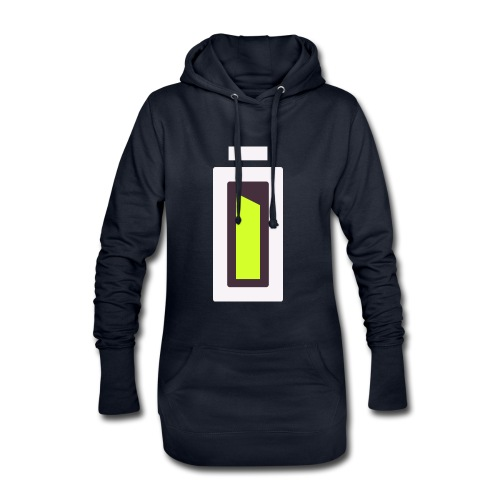 Batterie - Ready ?! - Sweat-shirt à capuche long Femme