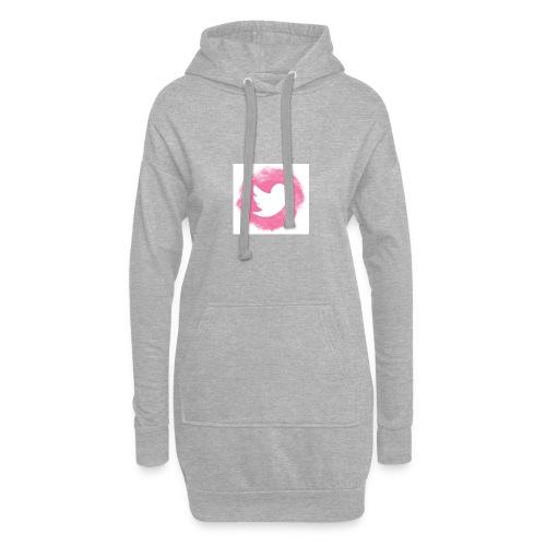 pink twitt - Hoodie Dress