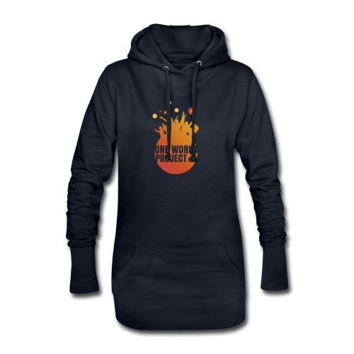 One World Project e. V. - Logo - Hoodie-Kleid