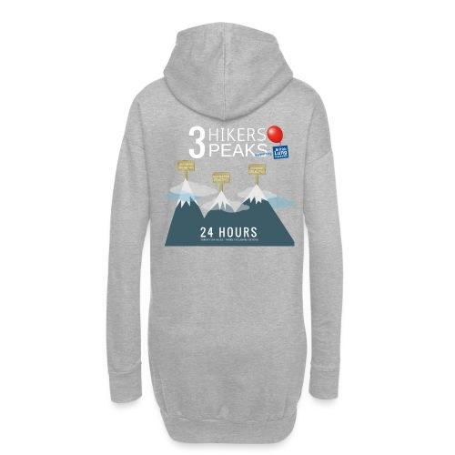 3 Hikers 3 Peaks - Hoodie Dress