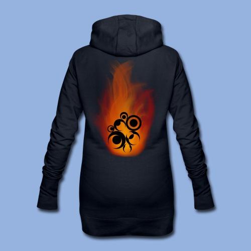 Should I stay or should I go Fire - Sweat-shirt à capuche long Femme