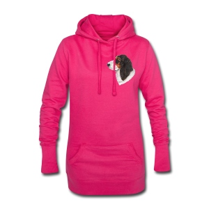 bassethound color - Hoodie-kjole