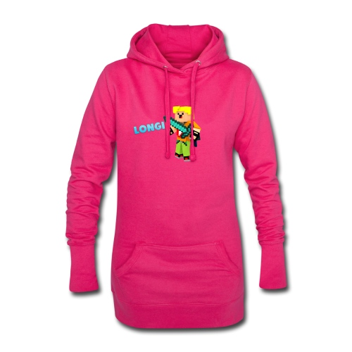 Kämpfender Longi Shirts - Hoodie-Kleid
