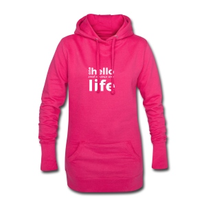 one hello can change your life - Hoodie Dress