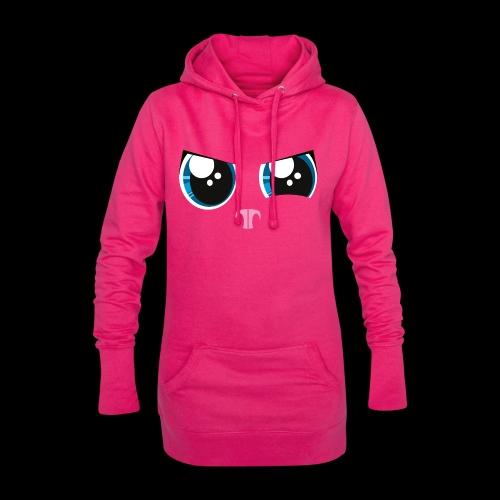 Die kalten aber knuffigen Augen - Hoodie-Kleid