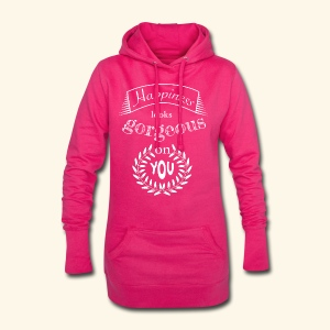 Happiness looks gorgeous on you - Hoodie-Kleid