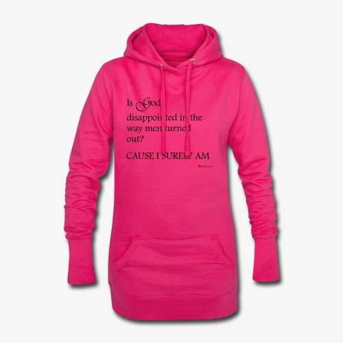 Disappointment - Hoodie-Kleid