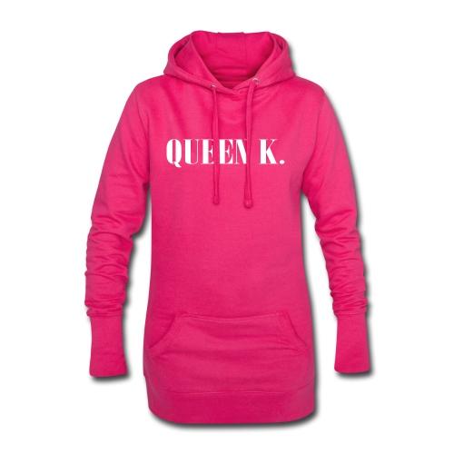 Queen K. Du bist die Königin! - Hoodie-Kleid