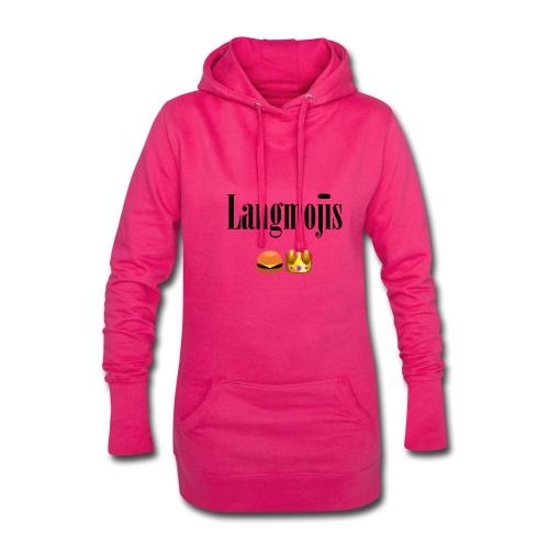Langmojis - Hoodie-Kleid