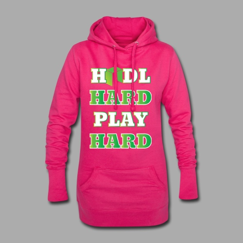 hhphNEO - Długa bluza z kapturem