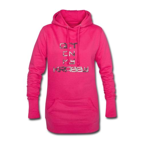 Get_on_my_kr+bby - Hoodie-Kleid