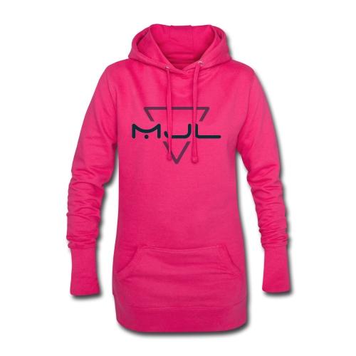 MJL (Black Logo) - Hoodie-Kleid