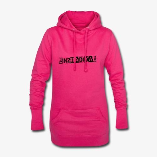 Linzradikal schwarz - Hoodie-Kleid